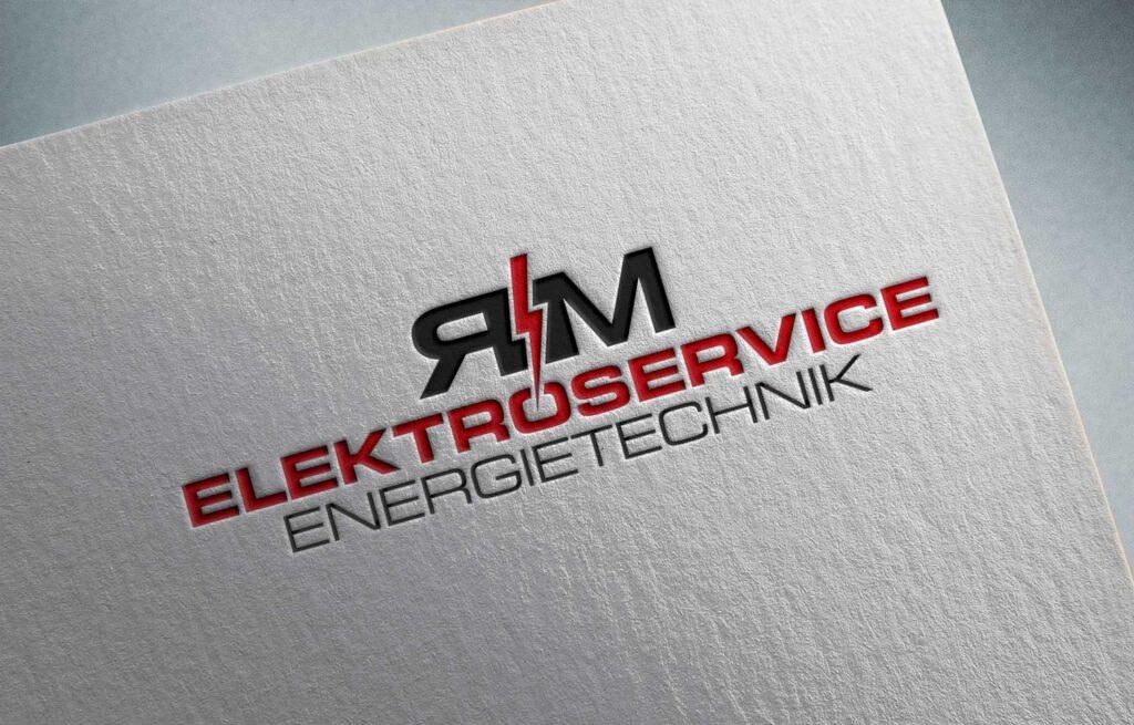 logodesign-werbeagentur-rm-elektrotechnik-cham